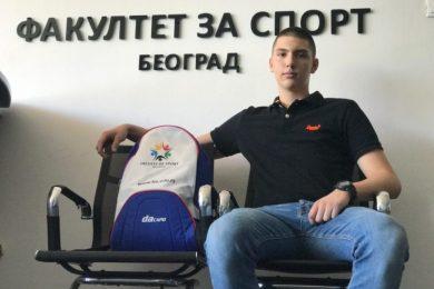 Trnavac novi student Fakulteta za sport