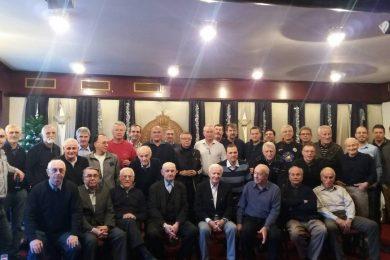 Novogodišnje okupljanje veterana – podrška reprezentaciji Srbije pred EP