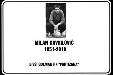 In memoriam – Milan Gavrilović Gavra