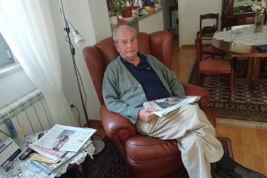 PARTIZAN DOBRO PAMTI SVE: Zoran Pantazis proslavlja svoj 90. rođendan