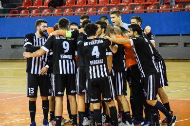CRNO-BELI ELIMINISANI IZ ČELENDŽ KUPA: Partizan nije uspeo da sačuva prednost u revanšu protiv Dikena