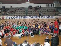 Manifestacija mini rukometa – Partizan 002