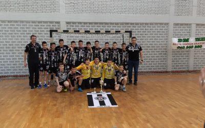 Rukometna akademija Partizan prvak Srbije na prvenstvu M06
