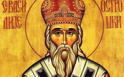 Srećna Slava – Sveti Vasilije Ostroški